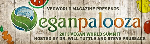 Veganpalooza 2013 Vegan World Summit